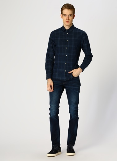 Only & Sons Only & Sons Lacivert Denim Pantolon Lacivert